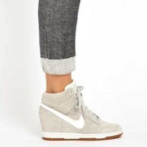 Nike Dunk Sky Wedge Hi High Sneakers
